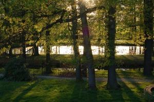 Park bei Bischof Benno Haus