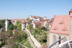 Ortenburg in Bautzen von der alten Wasserkunst